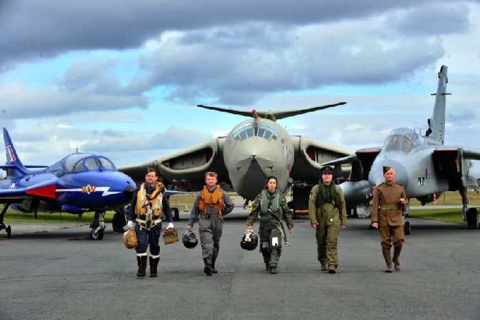 Hats off to a century of air combat as RAF flypast marks anniversary