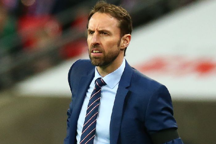 England s Manager Gareth Southgate  during International Friendly match  between England and Italy at Wembley ( 4e0615c09de6