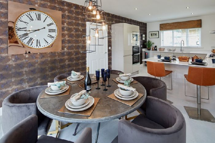 New Homes Showtime The Dining Table Set For Perfect Dinner Party