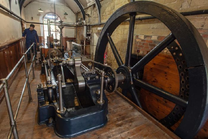 Incredible Pictures Show Yorkshire S Magnificent Mill Engine Fiona