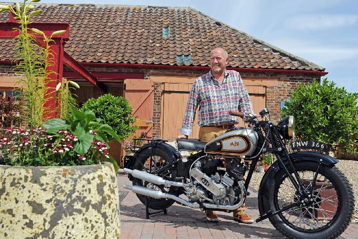This Vintage Motorbike Found In A Yorkshire Garage Could Fetch