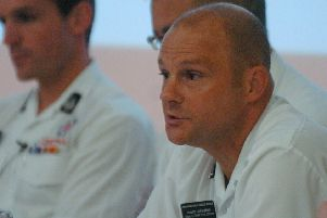 Justin Johnston has been promoted to the role of chief fire officer