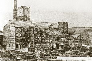 Great image: Lumbutts Mill in the 19th century.