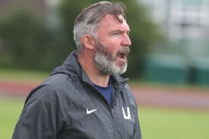Longridge Town boss Lee Ashcroft sees his players back in action on Wednesday night