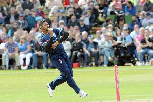 Derbyshire successfully chases down Yorkshire's total to claim another Vitality Blast win.