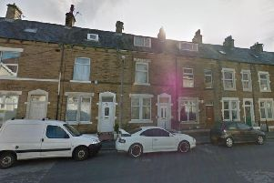 Two people have been taken to hospital after a fire at a home in Granville Road, Heysham at 9pm last night (Wednesday, June 5)