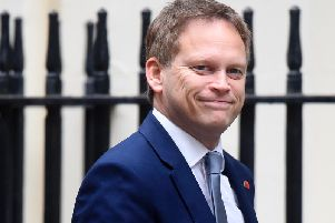 Secretary of State for Transport, Grant Shapps arrives at Downing Street  (Photo by Peter Summers/Getty Images)