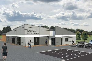 How the sports hub could look (Image: Chorley Council)