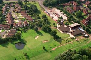 A fire is believed to have been started deliberately at the former Ingol Golf Club in Tanterton Hall Road, Preston at around 2am on Thursday, April 11.