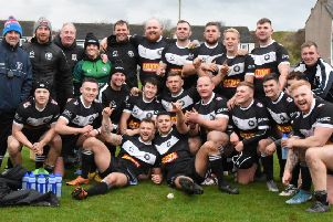 The winning Yorkshire RL open age side, who beat Cumbria. Picture: Ben Challis