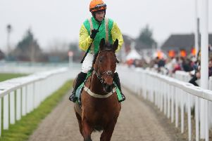 Midnight Shadow has now won at Cheltenham's New Year's day meeting for two successive years under Danny Cook.