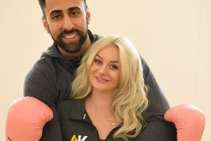 Leyland couple, Adam Badat and Kimberley Grant, have turned their years of being bullied into inspiration for a business that helps people become mentally fit through exercise.