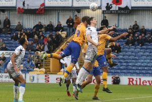 Mansfield Town v Colchester,