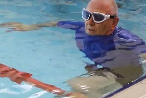 Swimming saves the NHS 357 million per year and improves the lives of many people who are battling dementia.