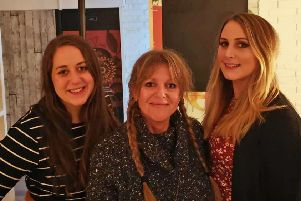 Amy, Suzanne and Lizzie