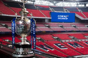 The Challenge Cup final has ben brought forward in the calendar and will take place at Wembley Stadium on Saturday July 18.