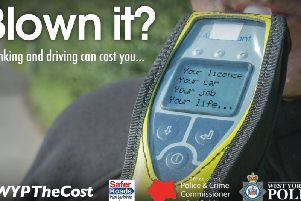 West Yorkshire Police have arrested 106 drivers in just nine days as part of  their festive drink driving crackdown.