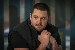 Luke Ambler, former Halifax Rugby League player