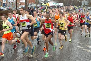 A previous Dewsbury 10k Road Race