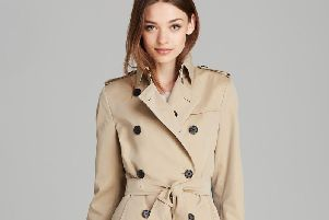 Burberry's world famous trench coats are manufactured in Yorkshire