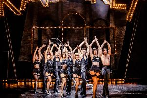 Multi-award winning production - Cabaret, Leeds Grand Theatre from Tuesday. (Photo: Richard Davenport)