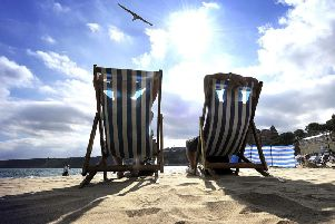 Temperatures are set to soar today