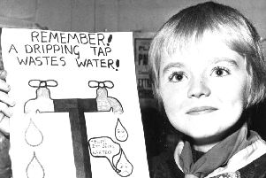 """A """"Save Water"""" poster painting competition organised by Wesley Hall Cub Pack, Wakefield and was won by Andrew Bigos, Thornes Drive, Wakefield."""