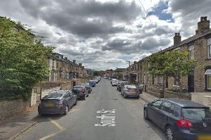One of the incidents involved a car being set alight in South Street, Savile Town. Picture: Google