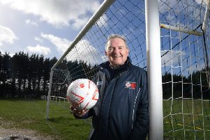 Lancashire Sunday League chairman Eamonn Mcnamara who is retiring this year, having been on the committee for 50 years