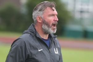 Longridge Town boss Lee Ashcroft is looking for three points on Saturday