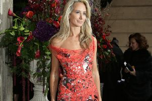 Lady Victoria Hervey, pictured here at London Fashion Week, will headline York Fashion Week with her friend, the York born designer Scott Henshall. Picture: Yui Mok/PA Wire