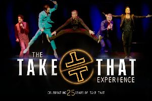 The Take That Experience is touring to Buxton and Chesterfield.