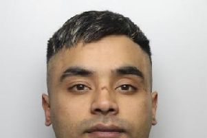 Hamza Ali Hussain, aged 23, from Dewsbury intentionally drove his car into a crowded area outside the TBC nightclub in Batley. Photo: West Yorkshire Police