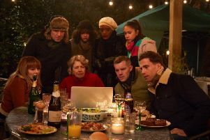 The cast of the new BBC drama, Years and Years