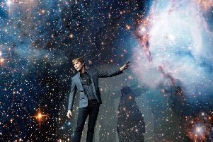 Professor Brian Cox at SSE Arena Wembley on May 26, 2017 in London. Photo by Nicky J Sims/Getty Images for Phil McIntyre Entertainment