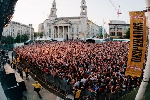Slam Dunk Festival at its previous home in Millenium Square.