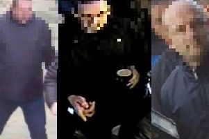The men were wanted by police after fighting broke out between Blackburn Rovers and Preston North End fans at an EFL Championship game at Ewood Park on March 9