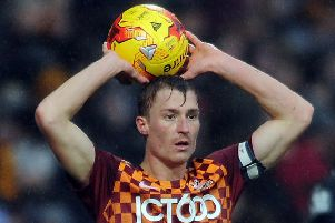 Former Bradford City captain Stephen Darby will be honoured at Valley Parade today. (Picture: Tony Johnson)