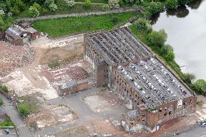 Penwortham Mill, which was bought by Bovis in 2003 and has been derelict for many years