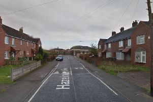 The body of a man in his 30s was found in a ginnel between two homes in Hazelhurst Avenue on Thursday morning (July 18)