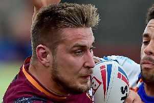 Toby Everett could be in line to play the 100th game of his career if he features for Batley Bulldogs in Sunday's 1895 Cup semi-final at Sheffield Eagles. Picture: Paul Butterfield