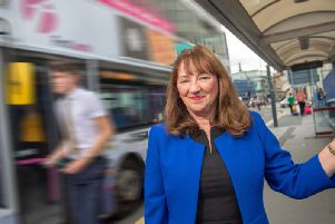Kim Groves is the first female chair of the West Yorkshire Combined Authority transport committee. Pic: Bruce Rollinson
