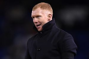 Salford City co-owner Paul Scholes. (Getty)