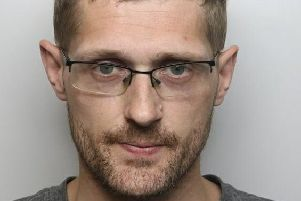 Pictured is  Ricky Whitehead, 30, of Main Road, Renishaw, who has been jailed for 18 weeks after he admitted committing common assault.
