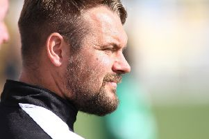 Belper Town manager Grant Black