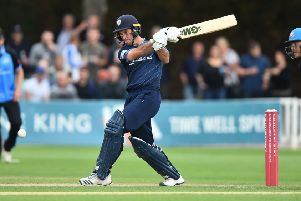 Wayne Madsen in Vitality Blast match action.'(Photo by Nathan Stirk/Getty Images)