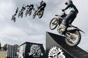 "Extreme stunts promise ""jaw dropping"" show."