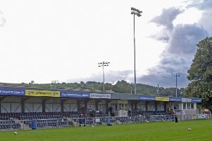 Belper Town's Raygar Stadium. Pic by Tim Harrison.