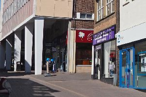 The distinctive purple Bluebell Wood Hospice charity shop, on Packers Row, in Chesterfield town centre, was targeted with criminal damage six times.