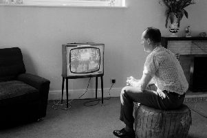 Are you one of the last people in Blackpool still watching a black and white television?